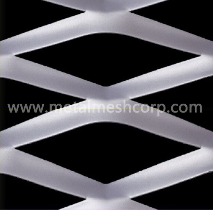 Decorative Expanded Metal Mesh Wall Panels