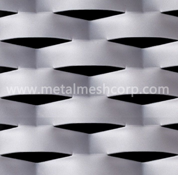 Aluminum Expanded Metal For Building Facade