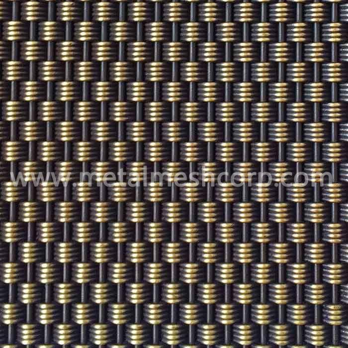 Architectural Decorative Woven Wire Mesh