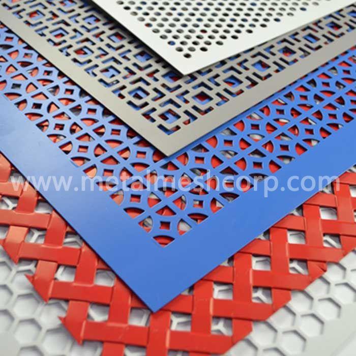 Decorative Aluminum Perforated Metal Mesh