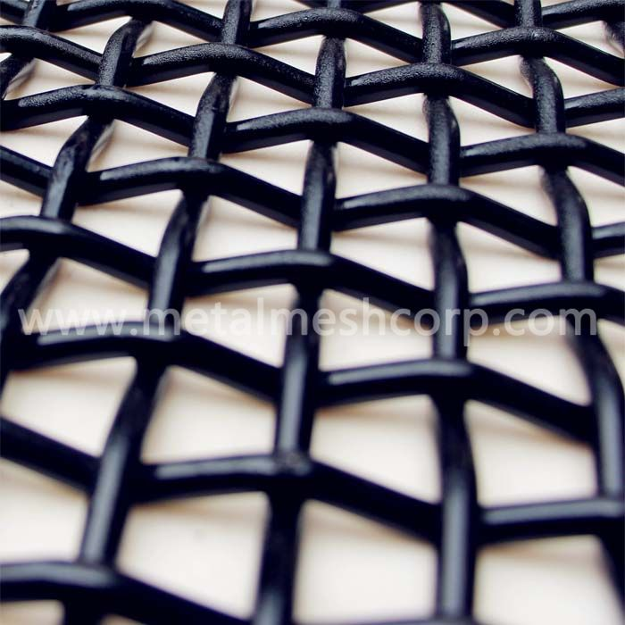 Carbon Steel Crimped Woven Mesh
