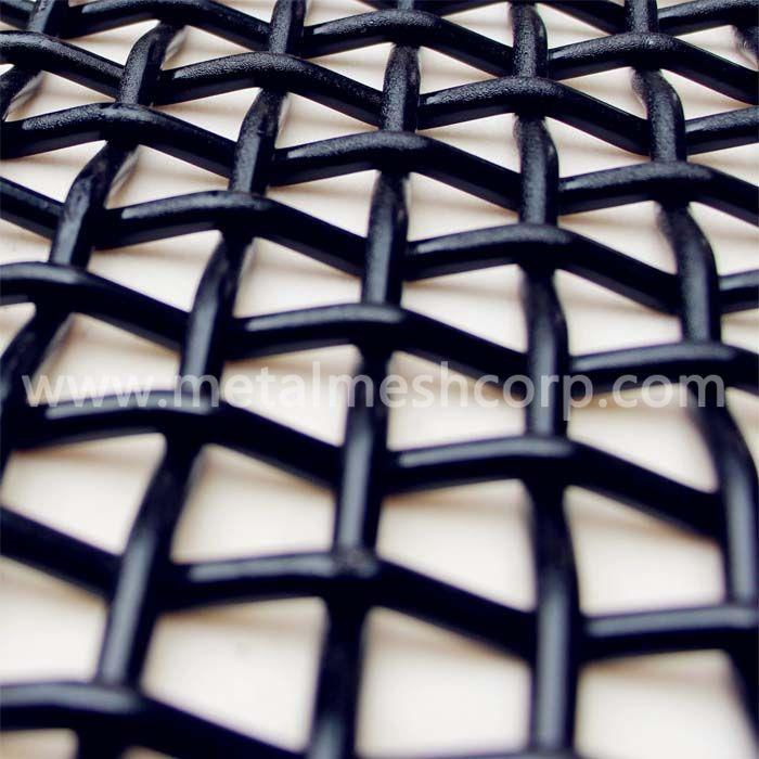 Galvanized Crimped Woven Wire Mesh