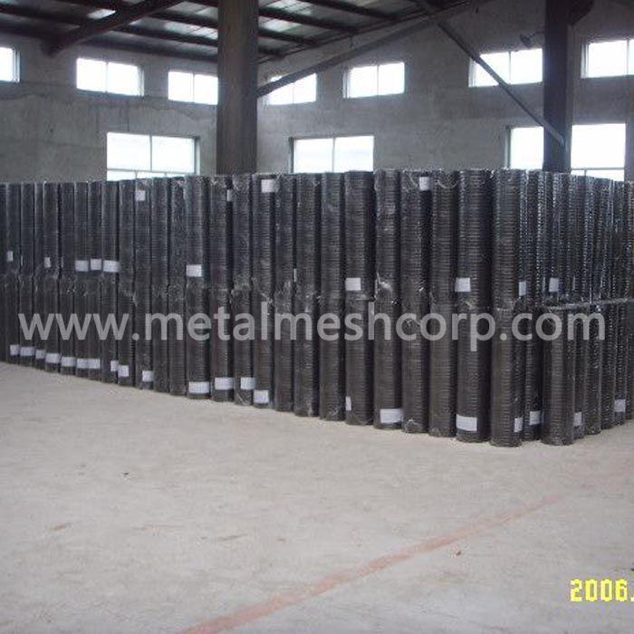 Black Steel Welded Wire Mesh