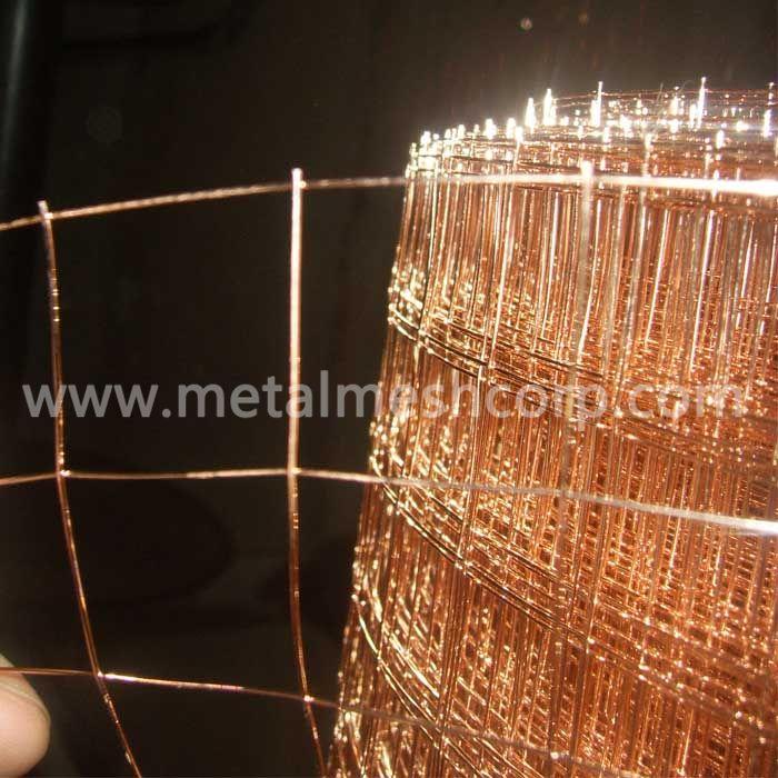 Bronze Coated Welded Wire Mesh