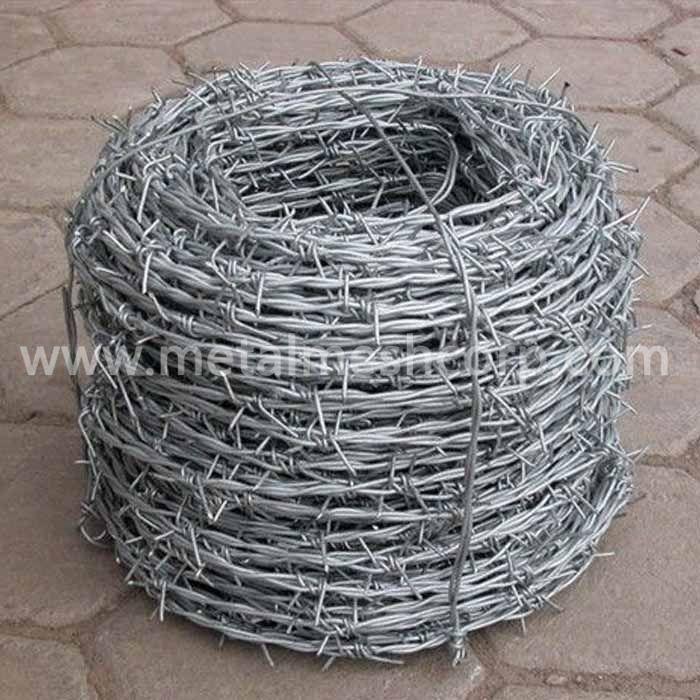 Galvanized Razor Barbed Wire