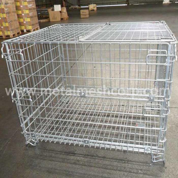 Galvanized Welded Storage Cages