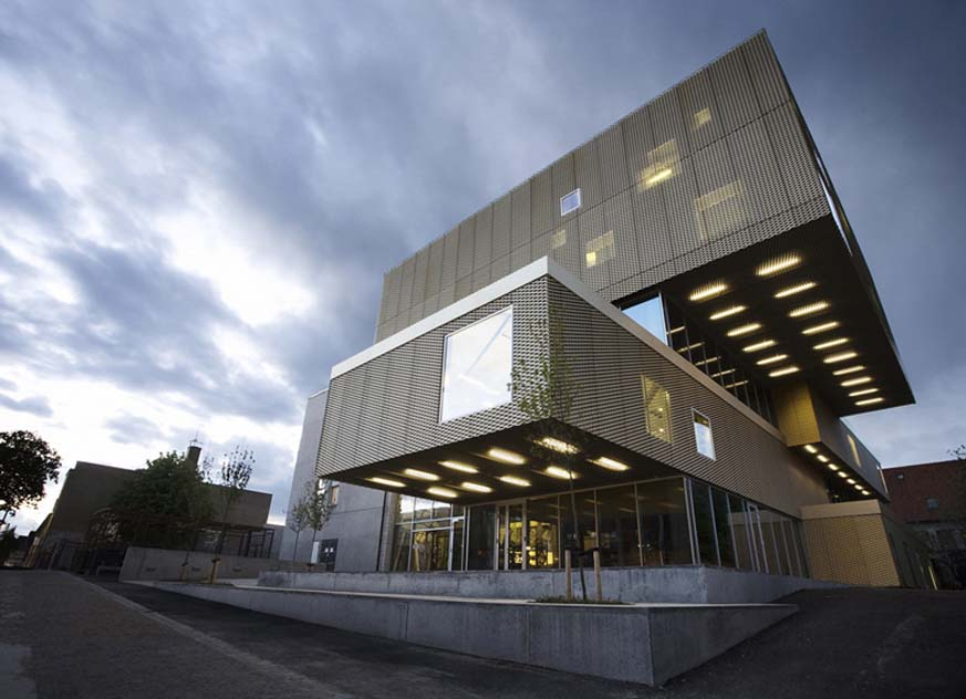 พิพิธภัณฑ์หุ้มด้วยตาข่ายสถาปัตยกรรม