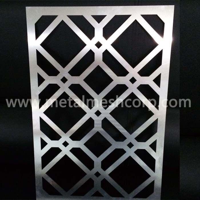 Decorative laser cut screens