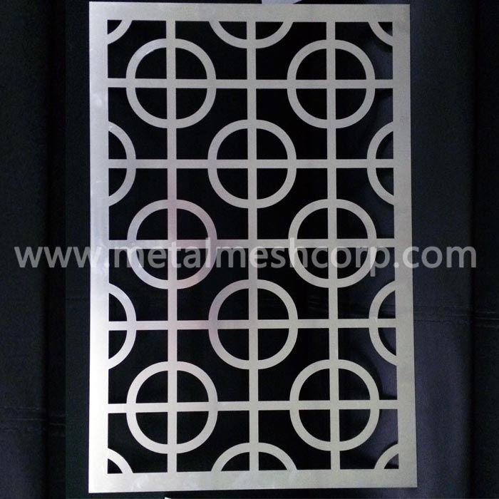 Architectural Laser Cutting Aluminum Sheet