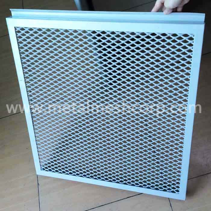 Decorative Expanded Metal Mesh Ceilings