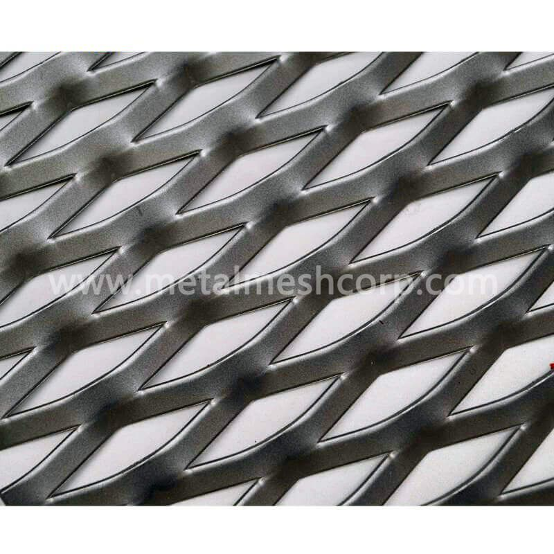 Decorative Expanded Metal Mesh for Façade Cladding