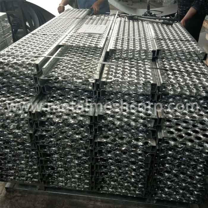 Perf-O Grip Metal Safety Grating
