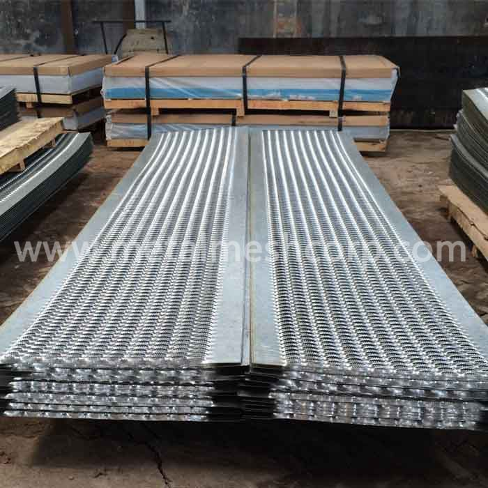 Galvanized Plate Perforated Grating