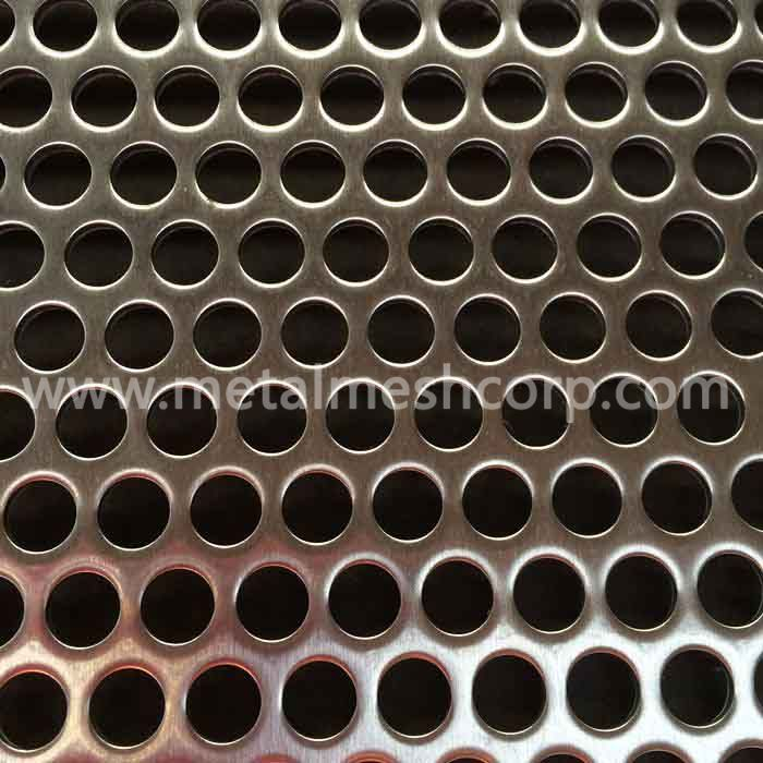 Stainless Steel 316 Perforated Metal Sheet