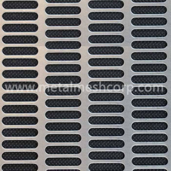 Slotted Hole Perforated Metal Sheet