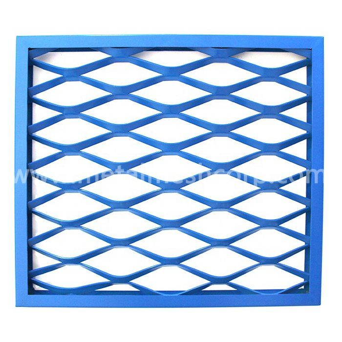 Aluminum Expanded Metal Mesh Wall Cladding