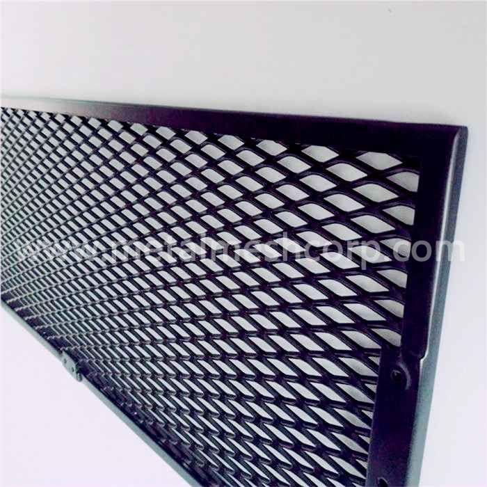 Aluminum Expanded Metal Ramp