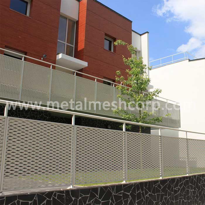 Decorative Expanded Metal Mesh Railing