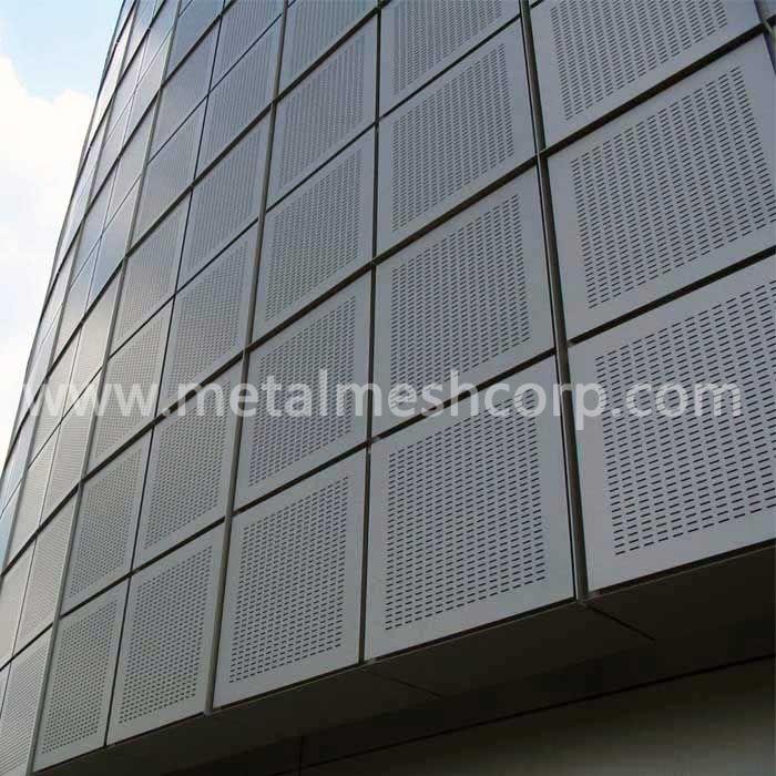 Anodized Aluminum Perforated Sheet