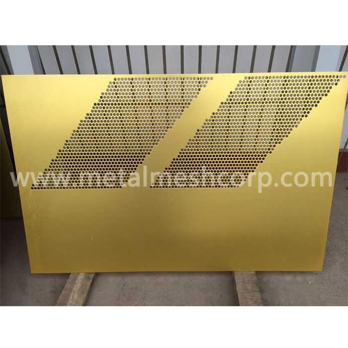 Decorative Brass Perforated Sheet