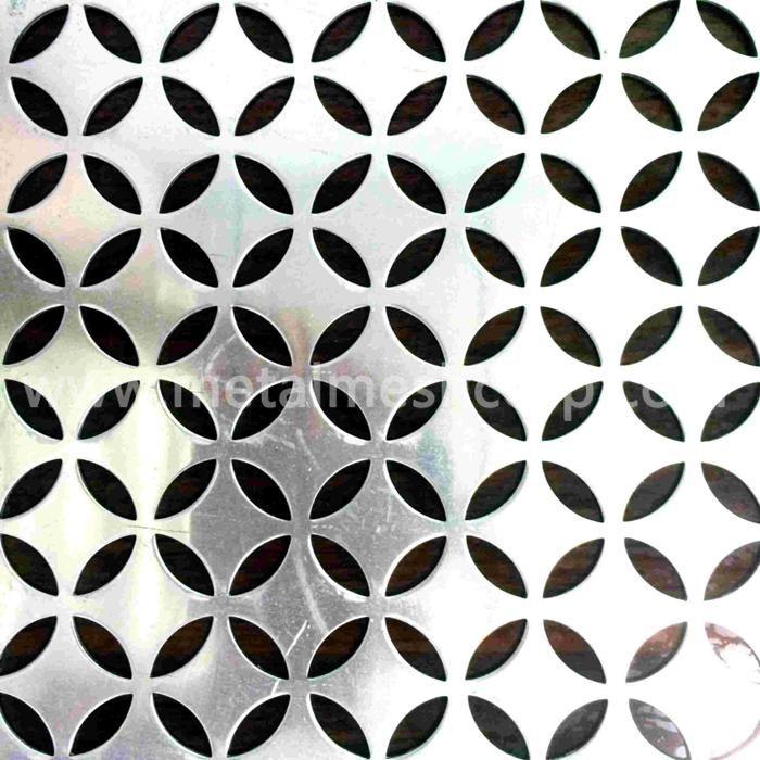 Decorated Perforated Metal Mesh