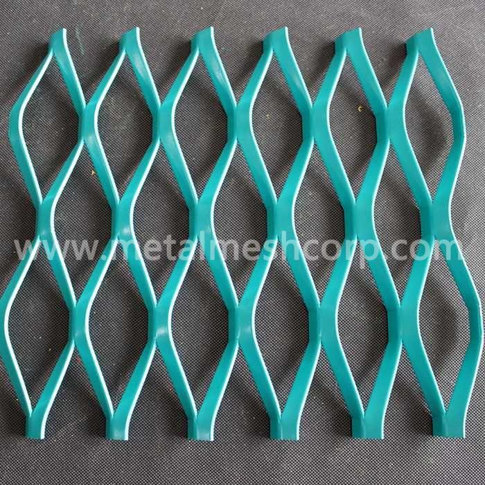 Various Color Aluminum Expanded Metal Mesh