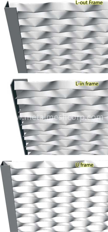Aluminum Expanded Metal Mesh Cladding